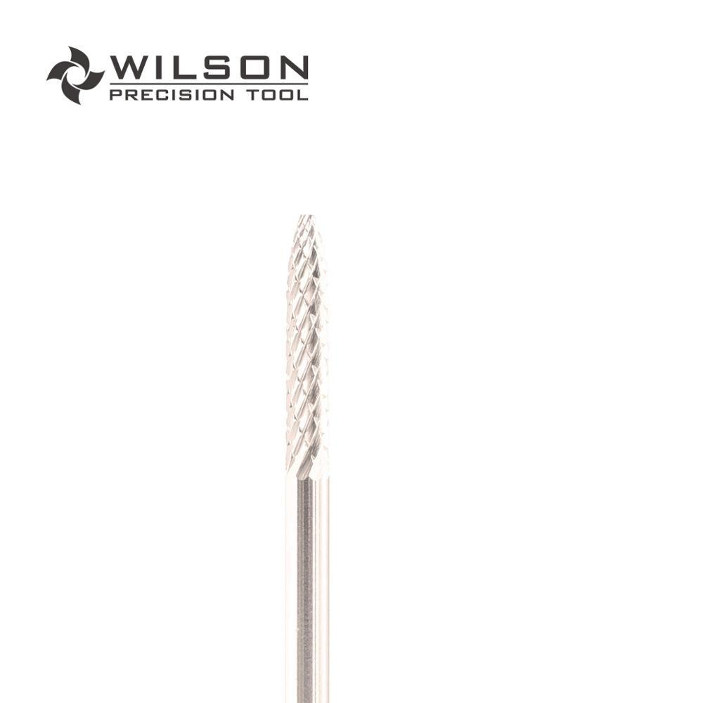 2pcs -Under Nail Cleaner - Medium- Gold/Silver - WILSON Carbide Nail Drill Bits
