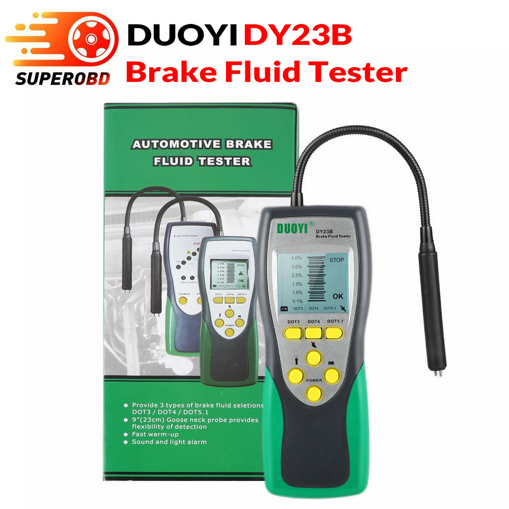 Electronic Brake Fluid Quality Safety Tester