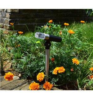 Image 2 - Nuovo regolabile solare lampada di proiezione della luce solare del prato giardino esterno impermeabile della luce di paesaggio in terra luce di emergenza