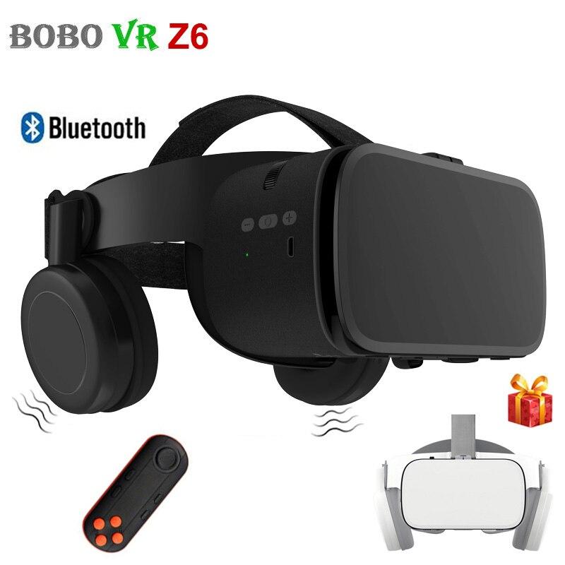 Original BOBOVR Z5 Update BOBO VR Z6 3D Glasses Virtual Reality Binocular Stereo Bluetooth VR Headset Helmet For iPhone Android
