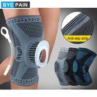 1 pces byepain suporte de cinta de joelho de compressão profissional para alívio de artrite, dor nas articulações, acl, mcl, rasgo de menisco, pós cirurgia