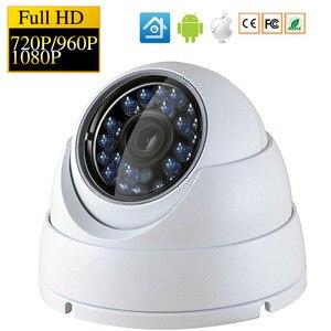 Image 1 - Kamera kopułkowa IP 720P 1080P H.264 +/H.265 HD sieć wewnętrzna IRC 24 diody podczerwieni NightVision ONVIF P2P CMS XMEYE
