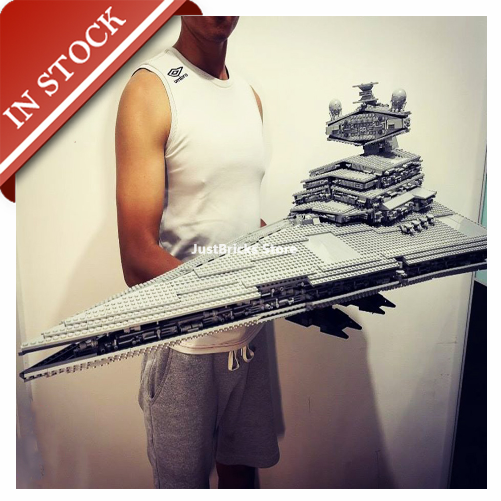 Star Series Wars Imperial Star Destroyer 10030 05027 In Stock Building Block 3000+Pcs Bricks Toy Gifts UCS 75252 81098