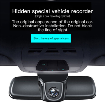 Screenless Hidden Dashcam 1080P Full HD Night Vision WiFi Mobile Phone APP Wireless Control DVR Cycle Recording Camera 1080P