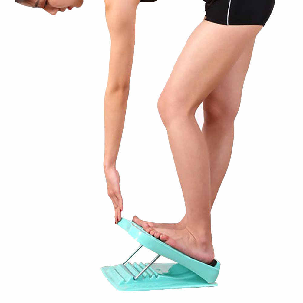 אנטי להחליק מתכוונן רגל עגל אלונקה שיפוע לוח גוף מתיחת כלי