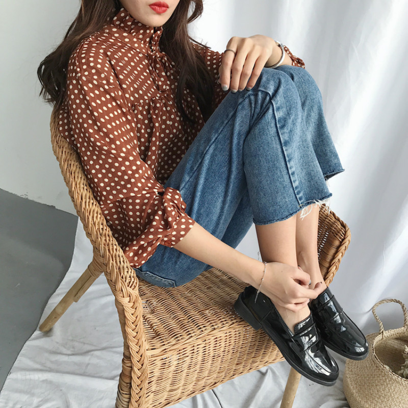 Image 5 - Jeans Women Trendy Elegant All match High quality Korean Style Leisure Daily Womens Female Lovely Simple 2020 New Girls SolidJeans   -