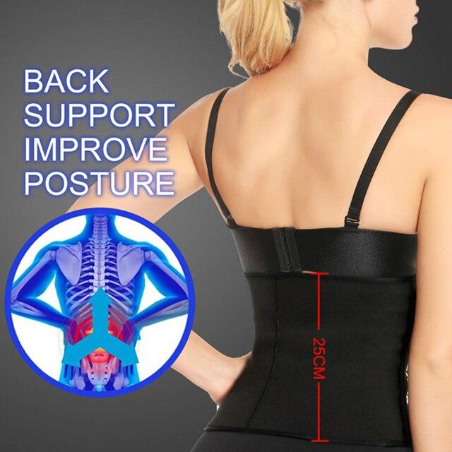 Yoga Workout Shapewear Vest Tank High Elasticity Sweat Slimming Belly Belt Vest Workout Body Shaper Tank Top 4
