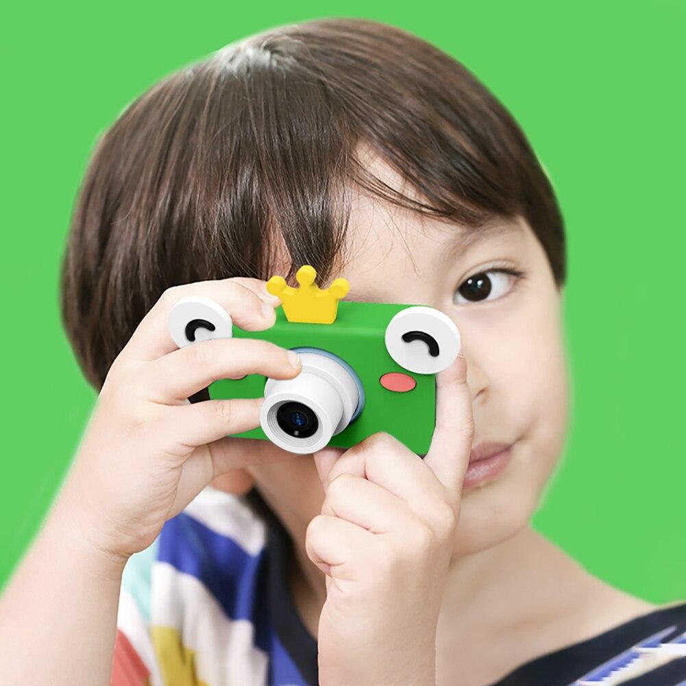 Bébé éducatif enfants Mini Portable appareil photo numérique enfants vidéo haute définition cadeaux Compact jouets photographie Durable