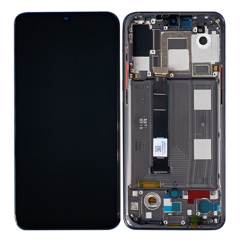 Tested For Xiaomi Mi 9 Mi9 LCD Display Touch Screen Digitizer Assembly + Frame For Xiaomi 9 LCD