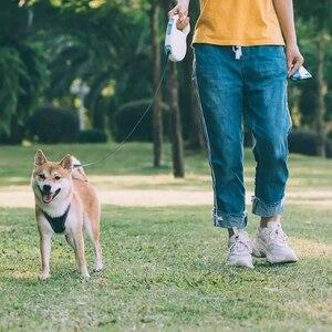 Image 5 - Youpin Jordan Judy corde de Traction rétractable pour animaux de compagnie Mibai Flexible sûr verrouillage automatique débobinage 5 mètres corde chien 85kg Max