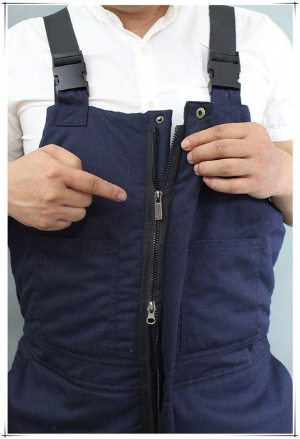 Winter Warm Thicken Working Tooling Overalls Male Work Wear uniforms Wear resistant Cold proof Jumpsuits For Worker Repairman 5