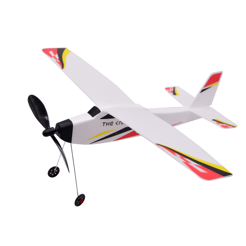 New arrival Fighter Hand Launch Throwing Glider Aircraft Inertial Foam Airplane Toy Plane Model Outdoor Educational Toys Gift image