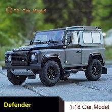 Land Rover défenseur voiture modèle Kyosho 1:18 défenseur 90 défenseur Simulation alliage voiture modèle aventure édition
