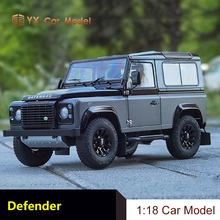 Car-Model Defender Simulation-Alloy Kyosho Land-Rover Adventure-Edition