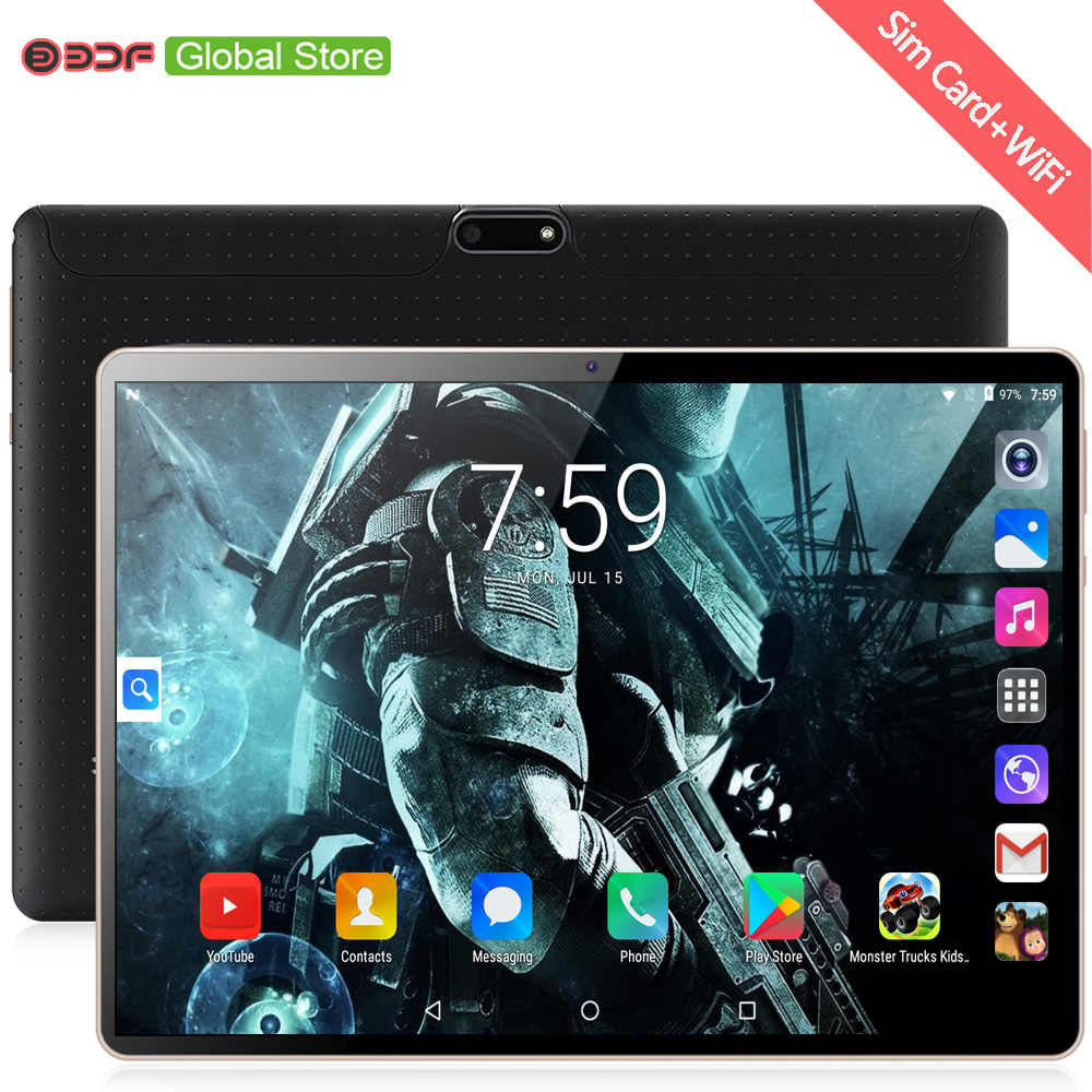 2019 Nieuwe Collectie 10 Inch Android 7.0 Tabletten 4 Gb + 64 Gb Octa Core Android Tablet Pc Wifi Gps 3G Telefoontje 7 8 9 10.1 Inch Tabletten