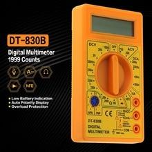 Universal DT-830B Mini Pocket Digital Multimeter 1999 Zählt AC/DC Volt Amp Ohm Diode hFE Tester Amperemeter Voltmeter Ohmmeter