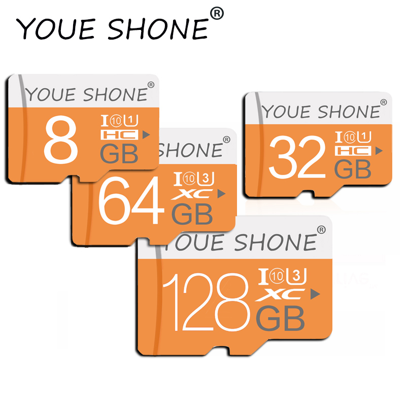 Class 10 32GB 64GB 256 GB Micro SD Card 16GB 128GB 32 64 GB TF Card Data Storage Flash Memory Card For Smartphone Phone