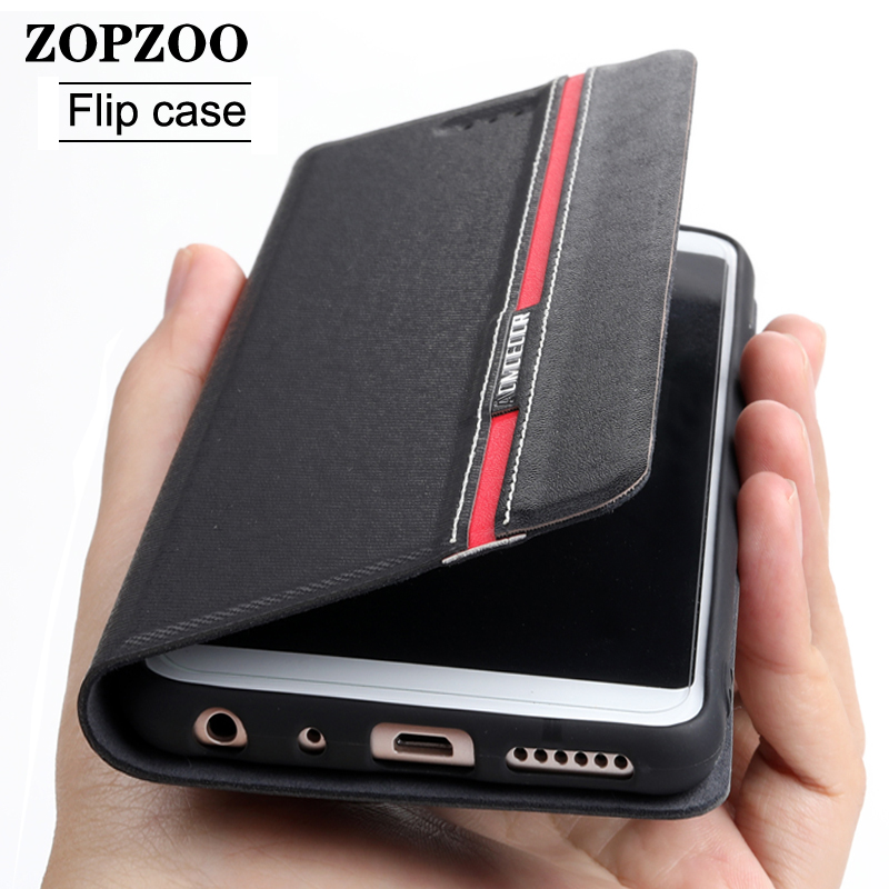 Leather case Flip For zte blade v8 v10 v9 vita a5 a7 2019 20 smart nubia m2 lite axon 7 10 pro z17 mini s v18 2020 Cover Cases(China)