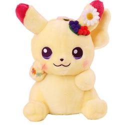 Grinalda pikachued pokemoned série de páscoa alta qualidade bonito brinquedos de pelúcia macio bordado boneca presentes de natal para o miúdo