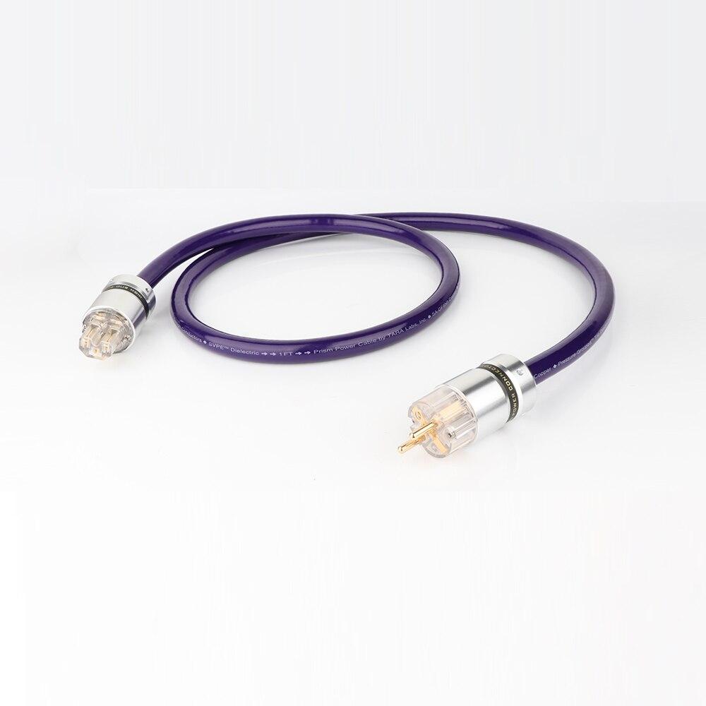 YTER SA-OF8N 8N OCC câble d'alimentation ca cuivre pur norme européenne connecteur de fil d'alimentation ue Schuko cordon d'alimentation fil d'alimentation HIFI