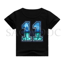 Stranger Things shirt for kids Baby Boys Summer T shirt Eleven Design girls Funny Tshirt Children tops T-shirt Short Sleeve tee недорого