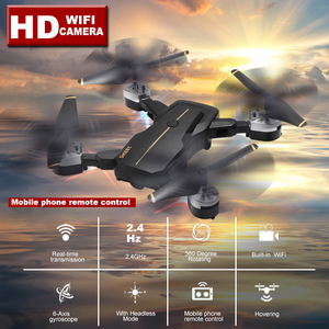 Image 2 - New Intelligent Foldable RC Drones With High HD WIFI Camera 360 Rotating FPV Quadcopter Stable Gimbal Headless Professional Dron