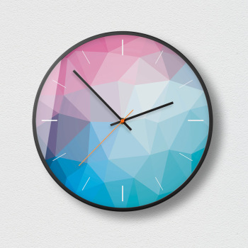 Silent Wall Clock Simple Modern Design Metal Luxury Nordic Clock Wall Reloj Pared Home Creative Living Room Decoration MM50WC