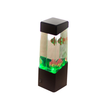 LED Lights Jellyfish Water Ball Aquarium Tank Lamp Relax Bedside Mood Light for Home Decoration Magic Lamp Gift Drop ship