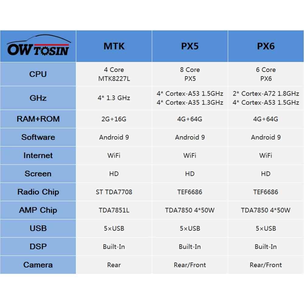 5 USB オクタコアの Android 9.0 車の DVD プレーヤーのためにシボレー silverado 1500 2500 3500 雪崩 Suburban Tahoe 2007- 2012 カーラジオ