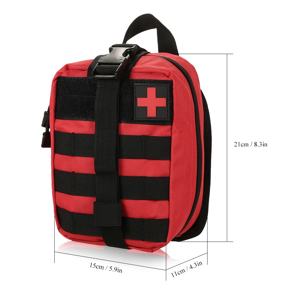 Image 5 - Outdoor MOLLE Medical Pouch First Aid Kit Utility Bag Emergency  Survival First Responder Medic BagEmergency Kits