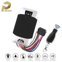 Prazata GPS Tracker Car GPS Vehicle Tracker GPS Locator GSM Waterproof TK303G Remotely Voice Monitoring Cut Off Engine Free APP