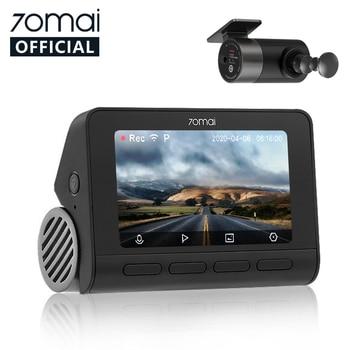70mai Smart Dash Cam 4K A800 Built-in GPS ADAS 70mai Real 4K Car DVR UHD Cinema-quality Image 24H Parking SONY IMX415 140FOV