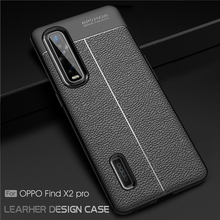 For Oppo Find X2 Pro Case TPU Shockproof Soft Rubber Hard Bumper Phone Cover For Oppo Find X2 Pro Case Oppo Find X2 Pro Fundas cloth finger ring case for oppo find x2 neo find x2 lite phone case soft silicone frame back cover for find x2 pro shockproof