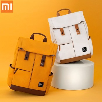 Xiaomi mi 90fun Vitality College School Leisure Backpack 15.6 Inch Laptop Bag Rucksack Outdoor Waterproof Travel for Men Women