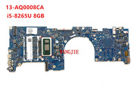 FOR HP ENVY 13T-AQ000 LAPTOP MOTHERBOARD 13-AQ L53410-601 L53410-001 i5-8265U 8GB  18744-1 448.0G903.0011 100% working 1