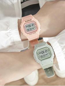 Women Watches Clock Alarm Digital Sports Montre Dial Glass Quartz Number Ore Numrique