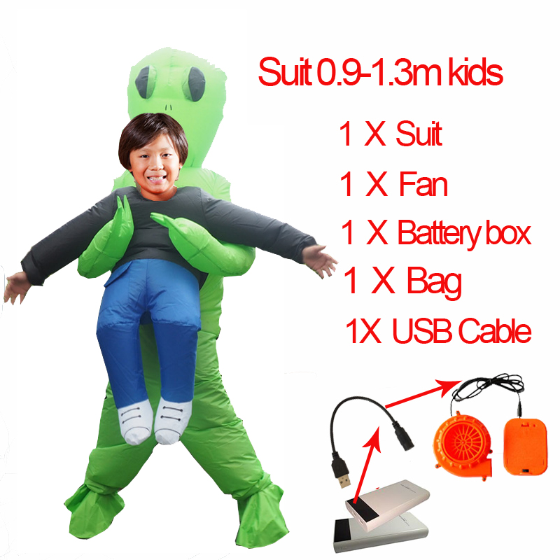 Cosplay T Rex Inflatable Velociraptor Costume Halloween Dinosaur T REX Costume For Women Men Kid Raptor Suit Dino Rider Dinosaur (3)