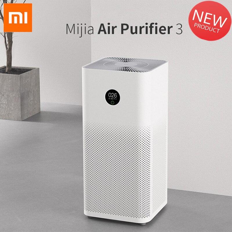 Purificador de aire mijo metil 3 app control HEPA purificador de aire control doméstico limpiador inteligente purificador de sonido de luz