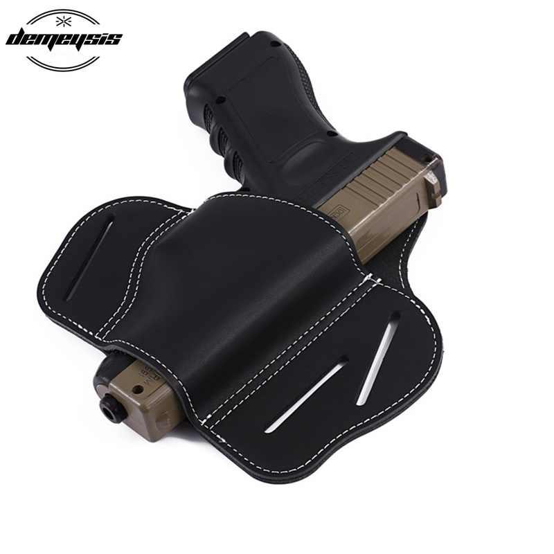 Тактический ремень пистолет кобура Glock 17 19 21 23 26 Beretta 92 Sig Sauer P226 SP2022 военный страйкбол Универсальный пистолет кобура