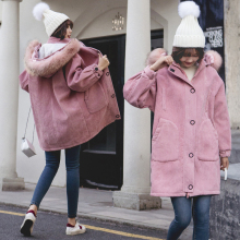 Winter Jacket Women Thickened Manteau Femme Hiver Casacos Feminino Harajuku Bayan Mont Icebear Dames Jassen Long Coat