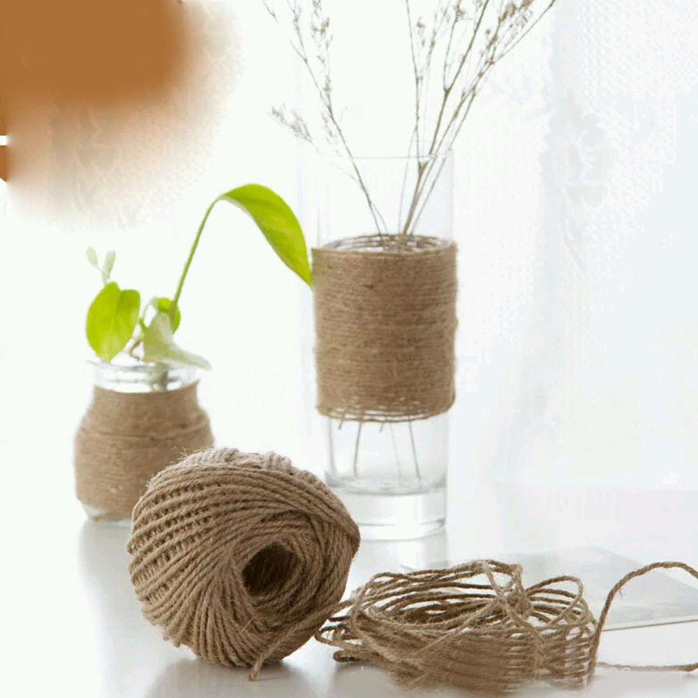 30M Natural Brown Jute Rope Twine String Cord Shank Craft String DIY Making
