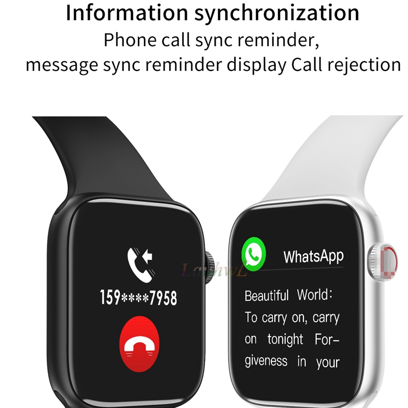 2020 IWO lite Smart Watch Men Rejection of calls Heart Fitness Rate Blood Pressure Smart Clock For IOS  android PK IWO 8 13  F10