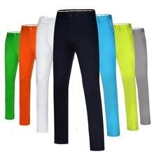 Отправить шотландки! Мужские Гольф Теннис; бейсбол одежда Тонкий Полный длинные брюки тонкие свободные брюки повседневные брюки Версия De Golf Pour Hommes одежда