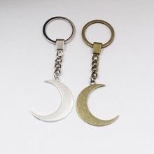 Crescent Moon Keychain mystic gothic jewelry Lunar witch celtic Pagan Wiccan luna Moon phase witchy Goddess Fashion gift(China)