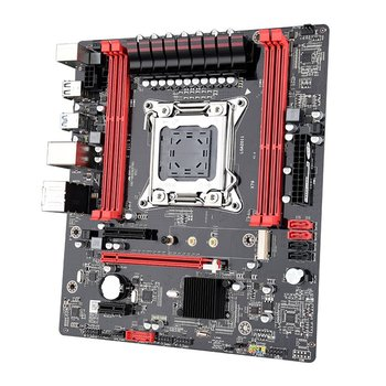 X79 Computer Motherboard Multi-Graphics Card Output High Compatibility All Solid Capacitors Replace Computer Motherboard