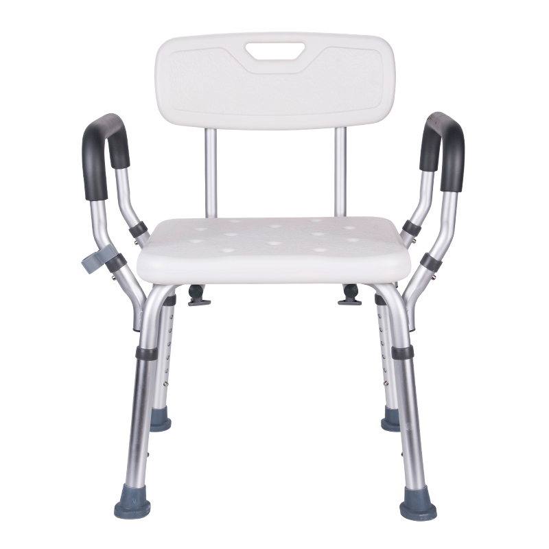 Adjustable Height Bath And Shower Chair Top Rated Shower Bench Safety Seat,shower Stool For Elderly, Handicap, Supports Up 200kg