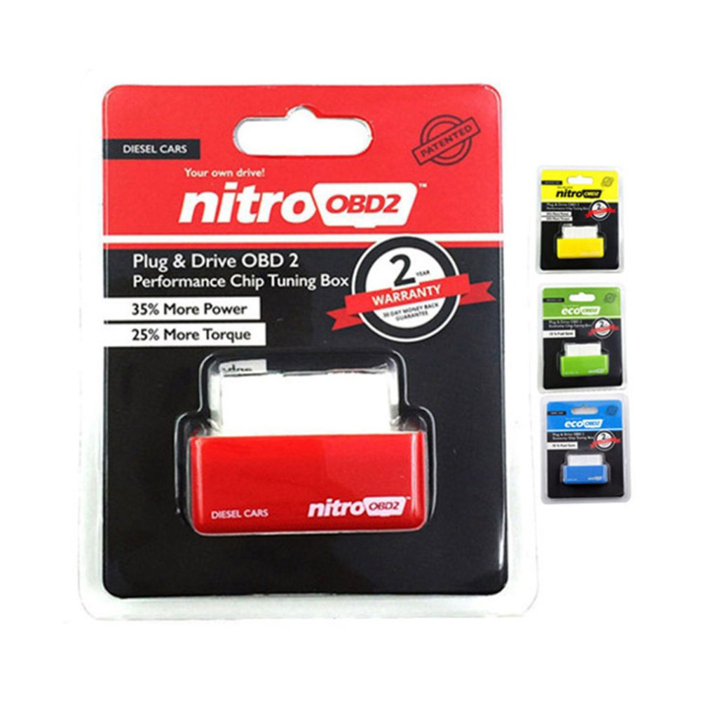 Car Replacement Economy Fuel Saver Eco OBD2 Benzine Tuning Box Chip For Car Petrol Saving Car Accessories 35% More Power