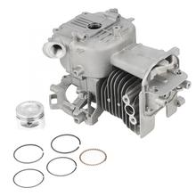 Piston-Ring Mower 4-Stroke 39mm Crankcase-Assembly Lawn 140FA/HHT25S Fit-For High-Quality