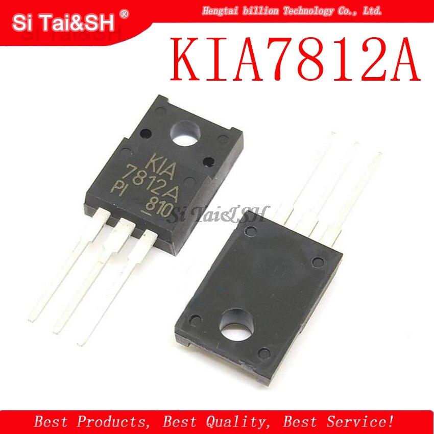 1pcs/lot KIA7812A KIA7812API 7812 TO-220F New Original