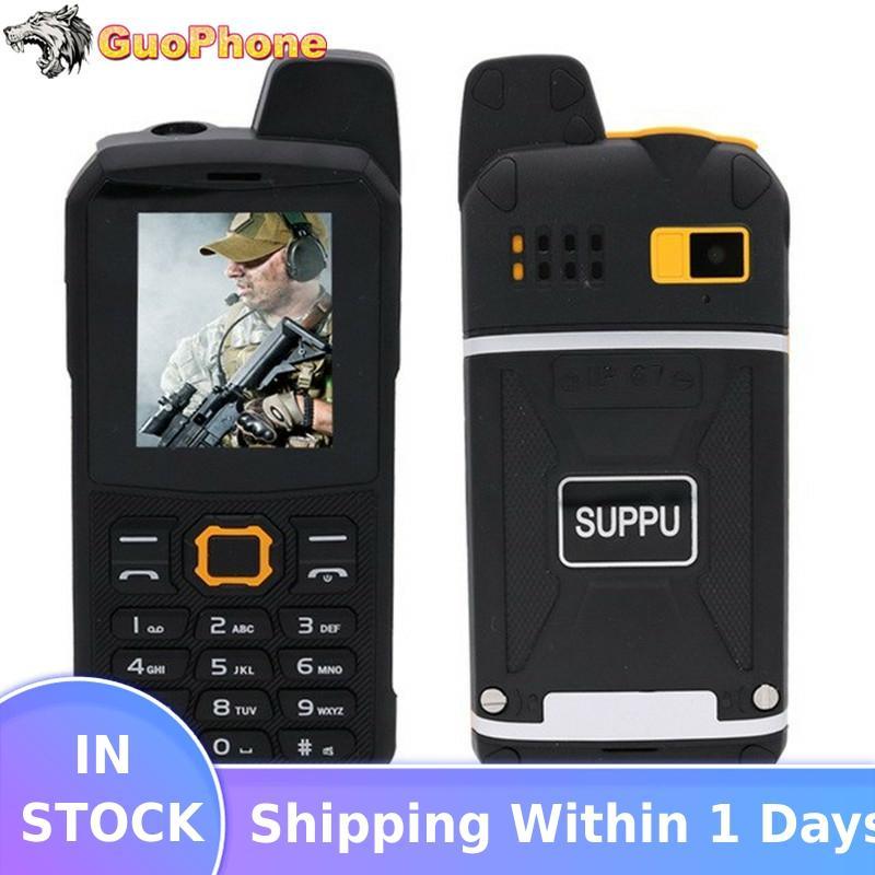 """F68 IP67 Wasserdicht Power Bank Handy 2.2 """"Stoßfest Lautsprecher Starke Taschenlampe Dual SIM Senior Außen Robuste Telefon"""